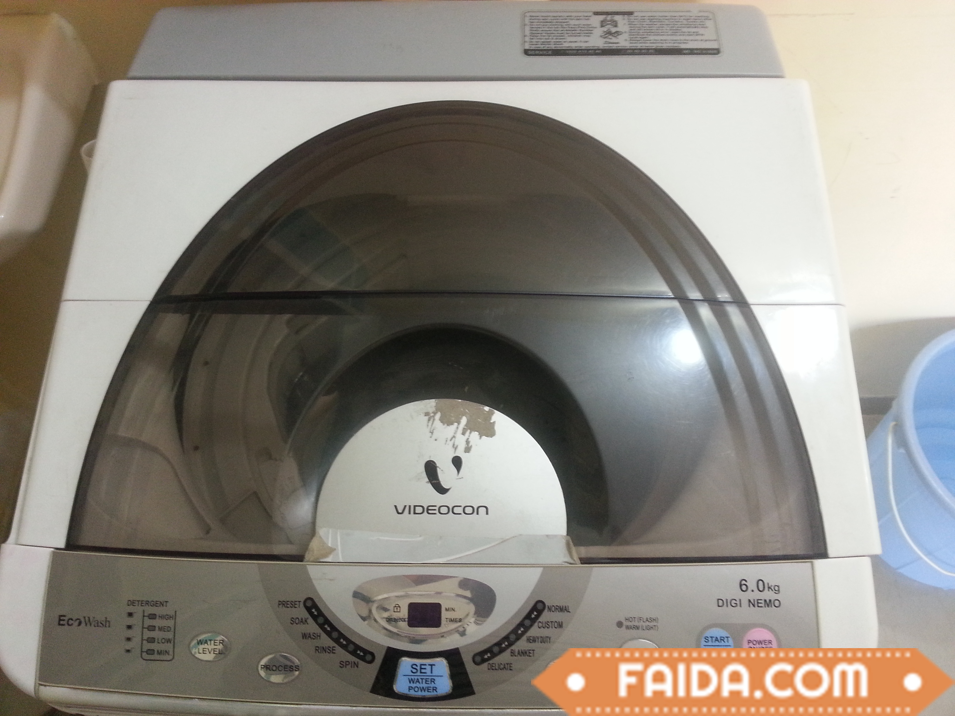 fully automatic washing machine Videocon 6kg top load