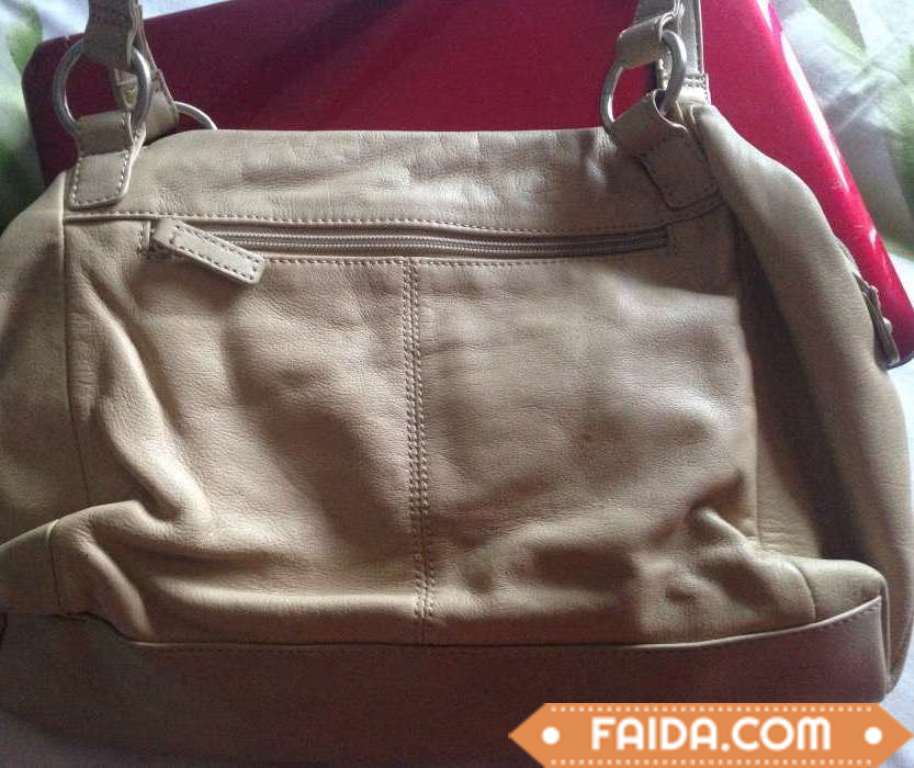 Johns Brand ladie's bag In cream color