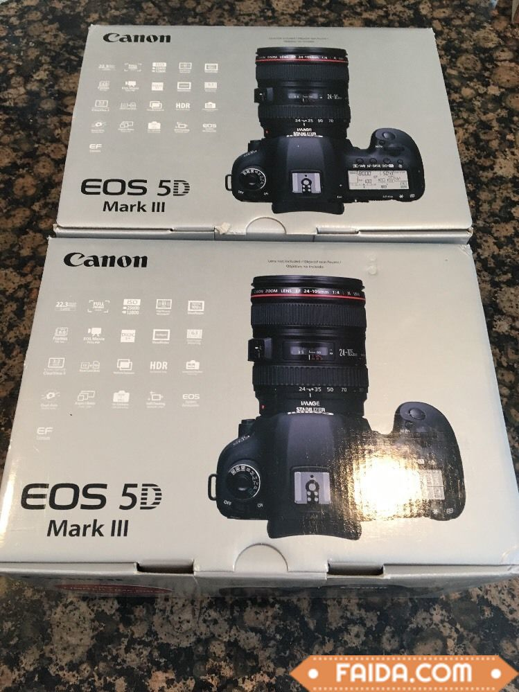 The complete brand new Canon EOS 5D Mark III