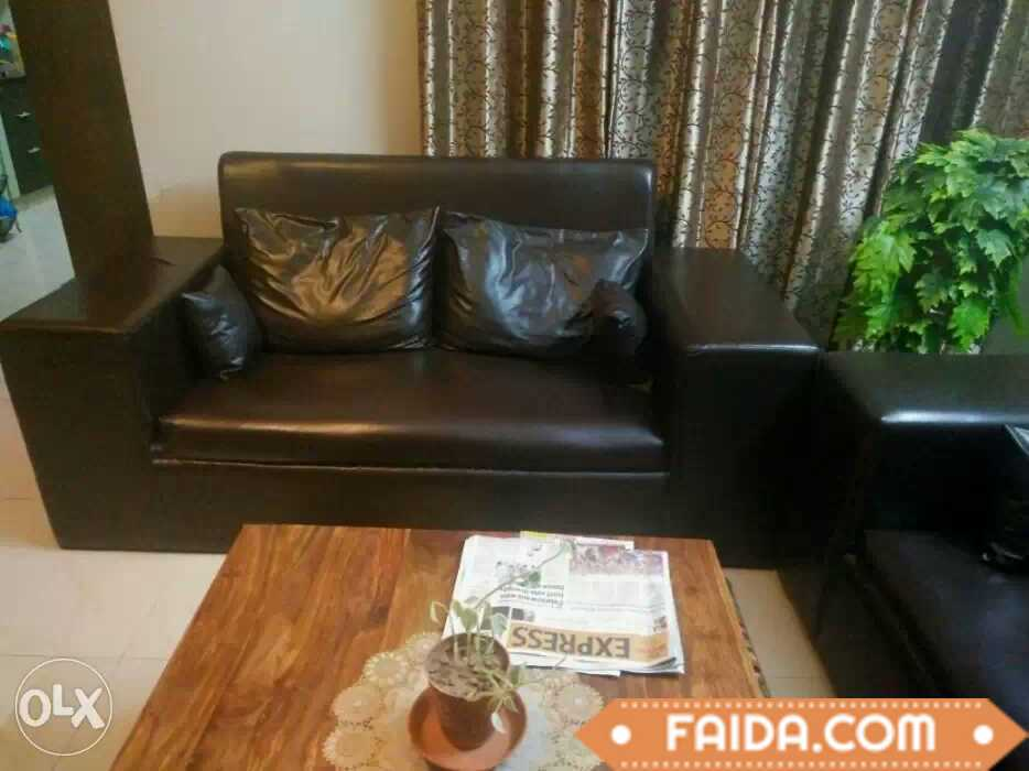 6 Seater sofa set with cushions