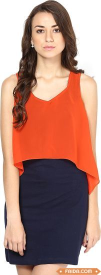Fancy Orange Top