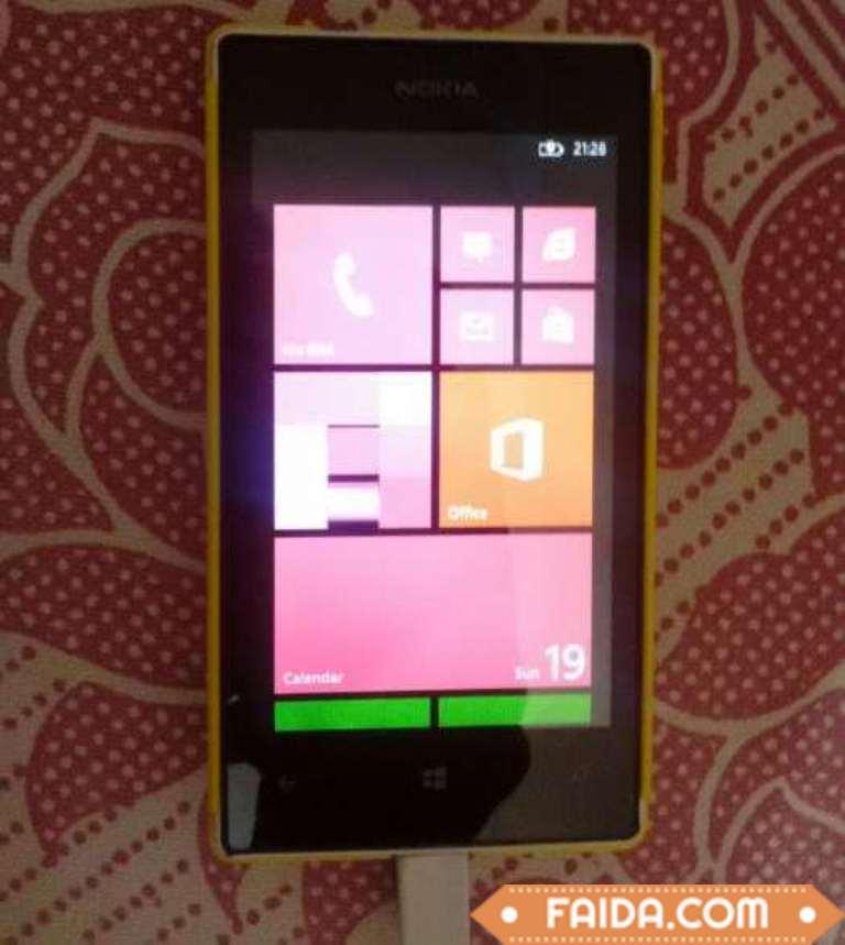 Nokia Lumia 520 mobile phone in Yellow colour