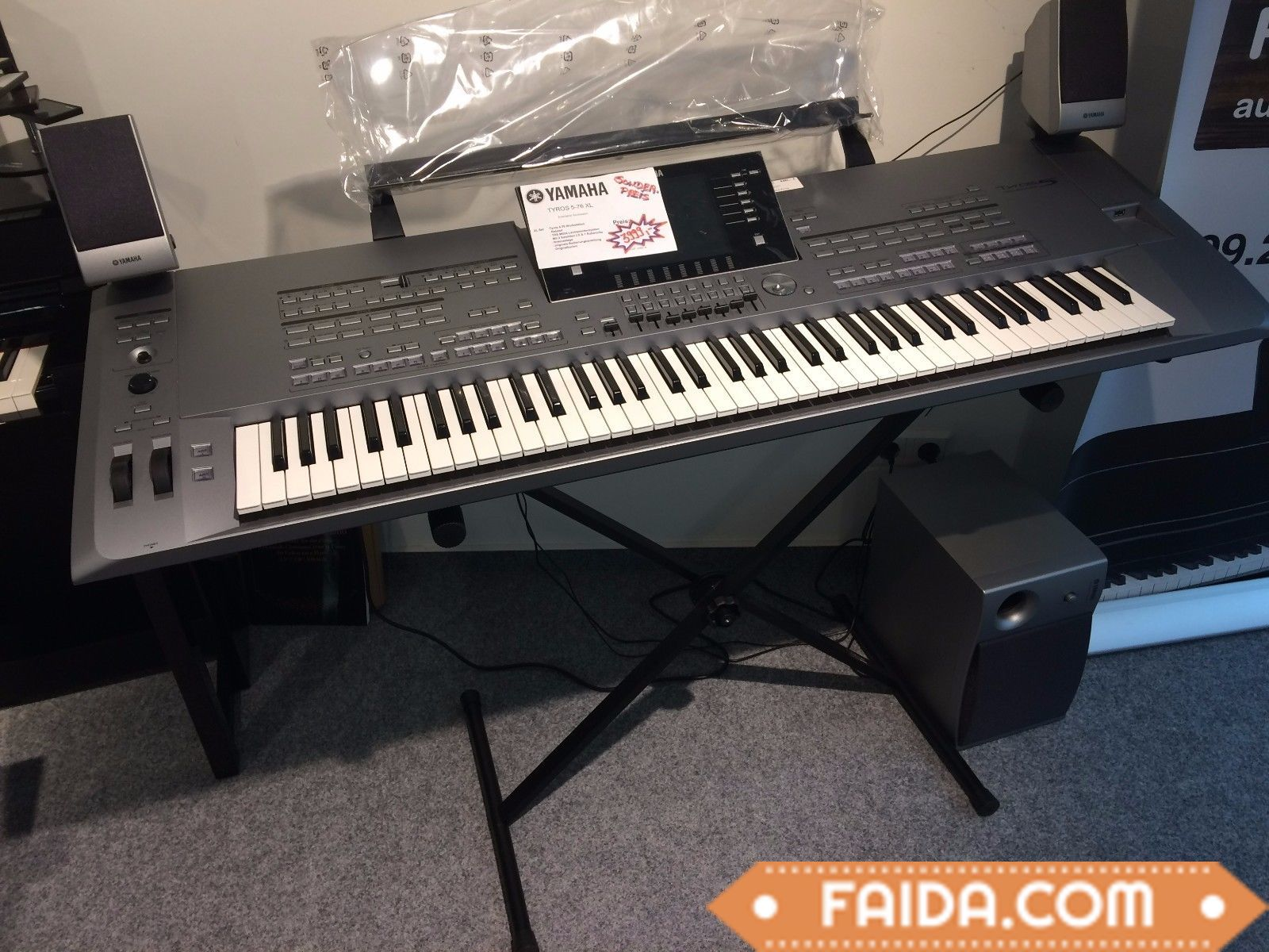 The Yamaha Tyros5-76 Whats app number : +18597770061