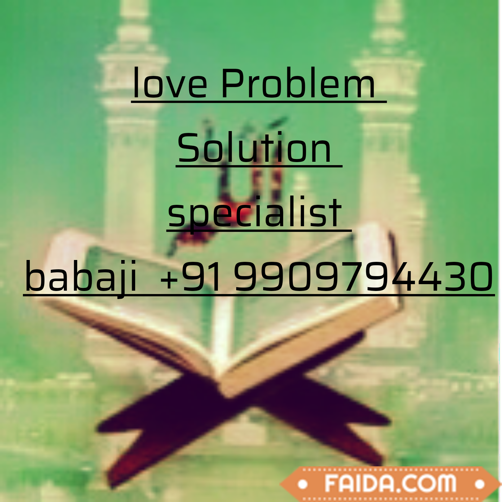 Love Problem Solution Specialist BABA JI +91-9909794430