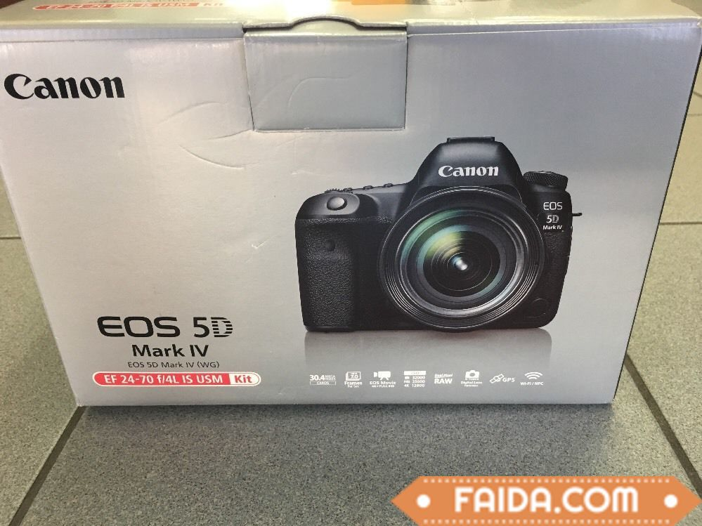 Brand new Canon EOS 5D Mark IV